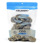 Icelandic+ Cod Skin Rolls  Single 3oz Bag