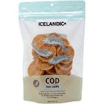 Icelandic+ Fish Treat - Cod Fish Chips  Single Bag