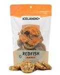 Icelandic+  Redfish Skin Rolls (3oz Bag Pack + Free Sample Bag) (Sell as Pack 6)