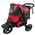 Gen7Pets Jogger Pet Stroller Pathfinder Red 1ea/One Size, 26 in