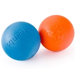 Planet Dog Squeak Ball Dog Toy Orange