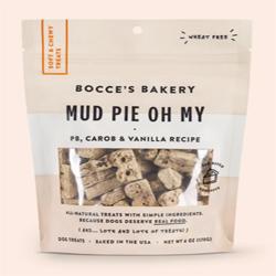 Bocces Bakery Dog Soft & Chewy Mud Pie 6Oz
