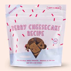 Bocces Dog Soft Chew Berry Cheesecake 6Oz