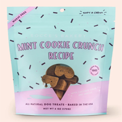 Bocces Dog Soft Chew Mint Cookie 6Oz