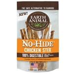 Earth Animal No Hide Chicken Stix Dog Treats, 10 Pack