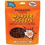 Polka Dog Bakery Dog Wonder Nuggets Peanut Butter 12Oz