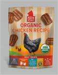 Plato Dog Treats Organic Chicken Strips 6Oz