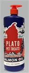 Plato Dog Treats Plato Wild Alaskan Salmon Oil 32Oz