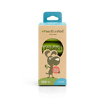 Earth Rated Poop Bag Dog 8 Roll Unscented