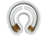 Starmark Treat Ringer Dog Toy Horseshoe White 1ea/One Size