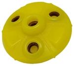 Starmark Flex Grip Treat Ringer UFO Yellow 1ea/Large