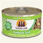 Weruva Cat Outback Grill  3 Oz.  Sold In Case of 24
