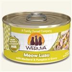 Weruva Cat Meow Luau 3 Oz.  Sold In Case of 24