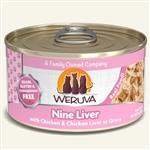 Weruva Cat Nine  Liver  3 Oz.  Sold In Case of 24