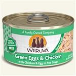 Weruva Cat Green Egg  Chicken 3 Oz.  Sold In Case of 24