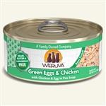 Weruva Cat Green Egg  Chicken 5.5 Oz.  Sold In Case of 24