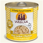 Weruva Cat Paw Lickin Chicken 10 Oz.  Case of 12 Sold In Case of 12