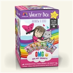 BFF Cat Omg Rnbw Variety Pack 3 Oz. Pouch Case of 12