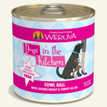 Dogs In The Kitchen Fowl Ball 10 Oz. (Case Of 12)