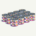 Bff Cat Soulmate Tuna Salmon 5.5 Oz. Case Of  24 (Case Of  24)