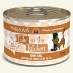 Cats In The Kitchen Cat Fowl Ball 6 Oz. Case Of  24 (Case Of  24)