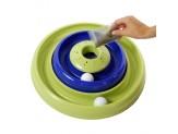 Bergan Catnip Hurricane Toy Green And Blue
