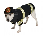 Rubies Fire Fighter Pet Costume S