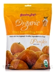 Grandma Lucys Dog Organic  Baked  Pumpkin  Treat  14 oz..