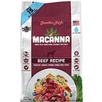Grandma Lucys Dog Macanna ana Grain Free  Free Beef Trial Size (case of 6)