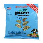 Grandma Lucys Dog  Pure  Fish Chickpea  Trial 1.5oz.  (Pack of 6)