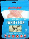 Grandma Lucys Dog Freeze Dried  Ocean Fish Treat  2.5 Oz..