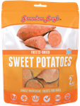 Grandma Lucys Dog Freeze Dried  Sweet Potato  Treat  2 Oz..