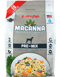 Grandma Lucys Dog Macanna ana Grain Free  Free Pre-Mix  3 Lbs.