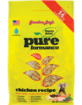Grandma Lucys Dog  Pure Grain Free Chicken Chickpea  3 Lbs.