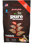 Grandma Lucys Dog  Pure Grain Free Rabbit Chickpea  3 Lbs.