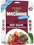 Grandma Lucys Dog Macanna  Freeze Dried  Beef Treat  6 oz..