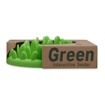 The Company Of Animals Dog Green Interact Feeder