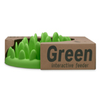 The Company Of Animals Dog Green Interact Feeder Mini