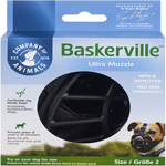 The Company Of Animals Dog Baskerville Ultra Muzzle Black Size 2