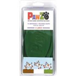 Pawz Dog Boots Tiny Green