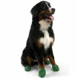 Pawz Dog Boots Extra Large Green