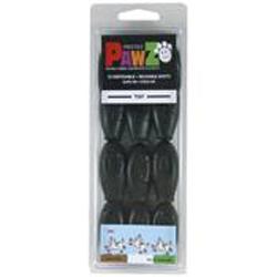 Pawz Dog Boots Black Tiny