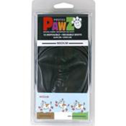 Pawz Dog Boots Black Medium