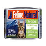 K9 Natural Feline Chicken Lamb 6 Oz.(Case Of: 24)