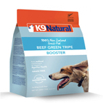 K9 Natural  Dog Freeze Dried Booster Beef Tripe 8.8oz.