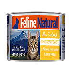 K9 Natural Feline Chicken 6 Oz.(Case Of: 24)