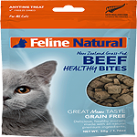 K9 Natural Feline Freeze Dried Bites Beef 1.76 Oz.