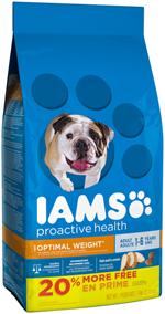 Iams ProActive Health Optimal Weight Dog Food 7lb