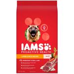 Iams ProActive Health Adult Lamb withMinichunks Kibble Dog Food 15lb