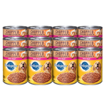 PEDIGREE Chopped Ground Dinner With Beef Canned Dog Food 13.2oz/12pk